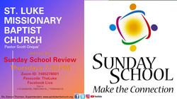Sunday School Review Slide 2021