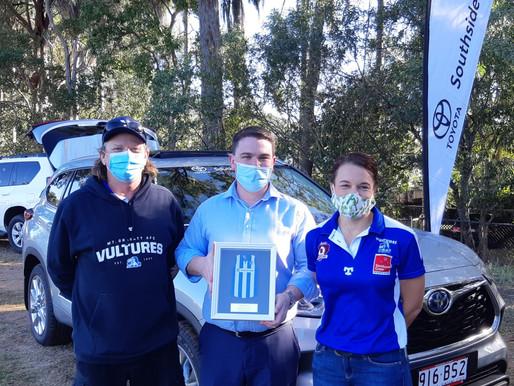 Southside Toyota now a major sponsor for the Mt Gravatt Vultures