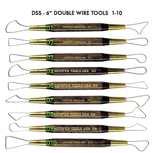 """DSS -6"""" DOUBLE WIRE SCULPTING Singles"""