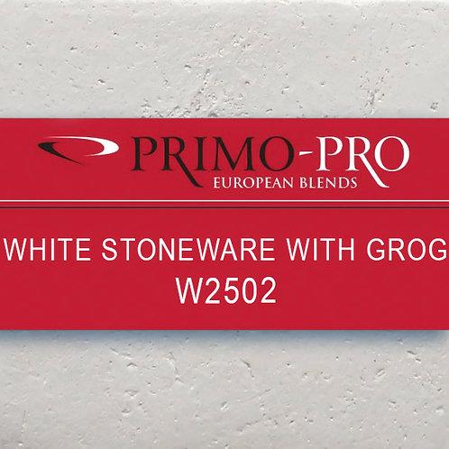 Primo-Pro White Stoneware Grog - W2502 - 10kg