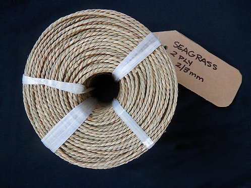 Seagrass Coil - 2 Ply 2-3mm   Wellington Potters Supplies Ltd.