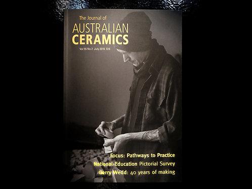 The Journal of AUSTRALIAN CERAMICS