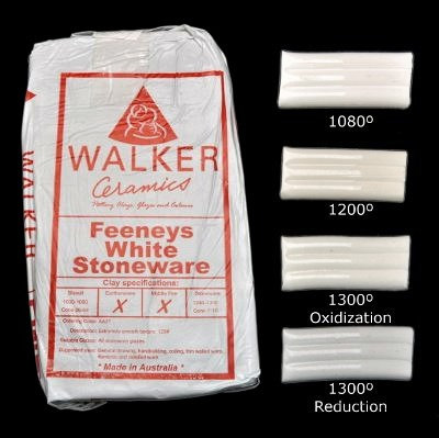 Feeneys White Stoneware ~10kg