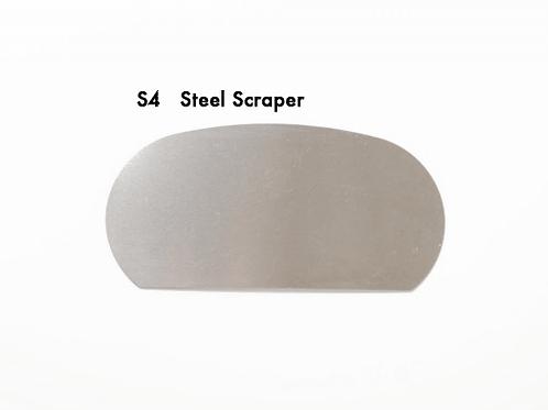 S4 - STEEL SCRAPER KIDNEY