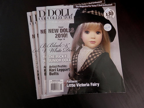 DOLL COLLECTOR - Back issue: March 2010