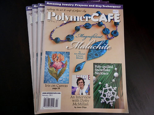POLYMER CAFE - Back issue: Feb 2011