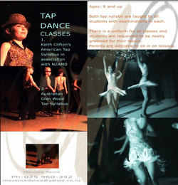 Tap Dance Classes ad