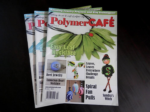 POLYMER CAFE - Back issue: Oct 2010