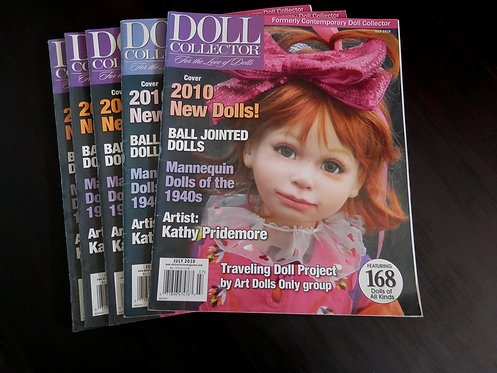 DOLL COLLECTOR - Back issue: July 2010