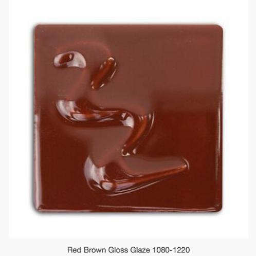 CESCO - RED BROWN GLOSS GLAZE  5294 - 500ml