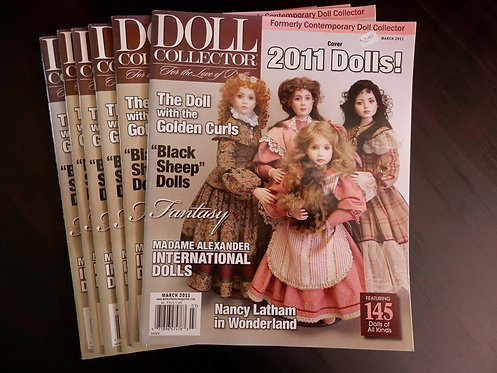 DOLL COLLECTOR - Back issue: March 2011