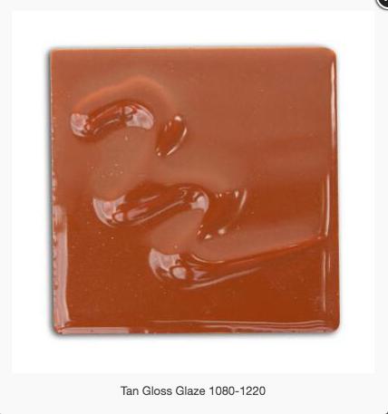 CESCO - TAN GLOSS GLAZE  5400 - 500ml