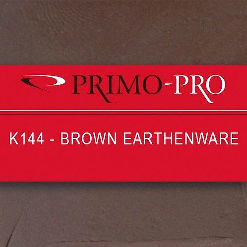 Primo Pro - K144- Brown Earthenware 10kg