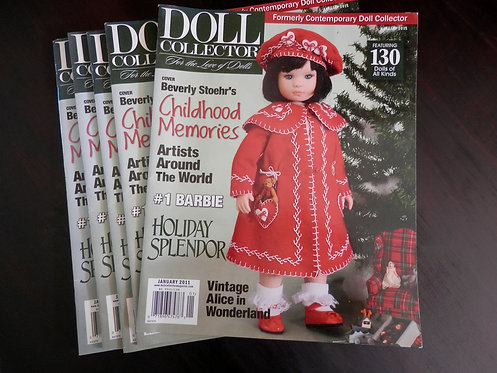 DOLL COLLECTOR - Back issue: January 2011