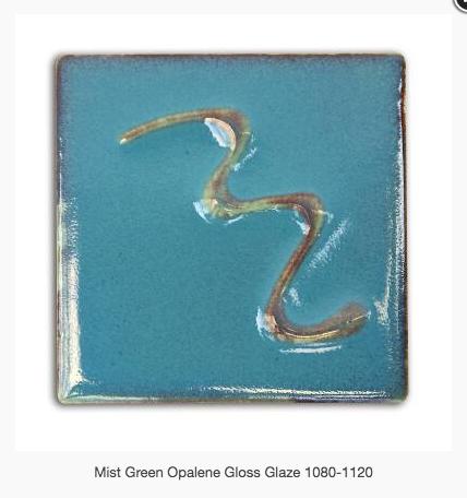 CESCO - MIST GREEN OPALENE GLOSS  5200 - 500ml