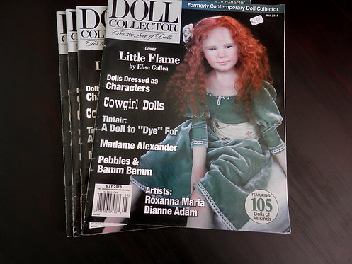 DOLL COLLECTOR - Back issue: May 2010