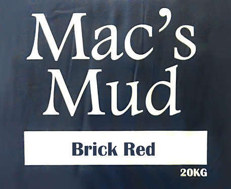MAC'S MUD BRICK RED 20kg