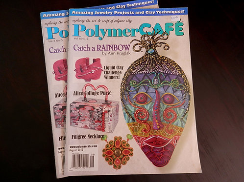 POLYMER CAFE - Back issue: August 2010