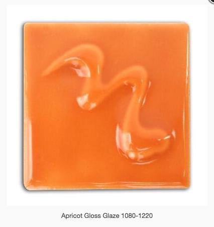 CESCO - APRICOT GLOSS GLAZE  5400 - 500ml