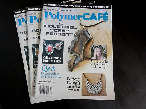 POLYMER CAFE - Back issue: April 2011