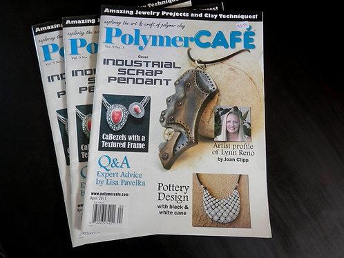 POLYMER CAFE - Back issue: April 2011
