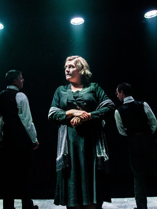 "Opposite him as the nagging wife is Milner-Evans, whose opening aria, 'Something to Be Proud of', is one of the most intense five minutes I've heard sung on stage – relentless, comical and characterful. Wonderful"". Craig Glenday- Musical Theatre Review  ""...with impressive work from Kate Milner-Evans as Mrs Zero""  Henry Hitchings - Evening Standard. Oct 5th 2016 ""...her emotional expression transcending what language alone can communicate""-Judi Herman -jewishrenaissance.org.uk 2016"