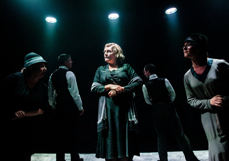 """Opposite him as the nagging wife is Milner-Evans, whose opening aria, 'Something to Be Proud of', is one of the most intense five minutes I've heard sung on stage – relentless, comical and characterful. Wonderful"""". Craig Glenday- Musical Theatre Review  """"...with impressive work from Kate Milner-Evans as Mrs Zero""""  Henry Hitchings - Evening Standard. Oct 5th 2016 """"...her emotional expression transcending what language alone can communicate""""-Judi Herman -jewishrenaissance.org.uk 2016"""