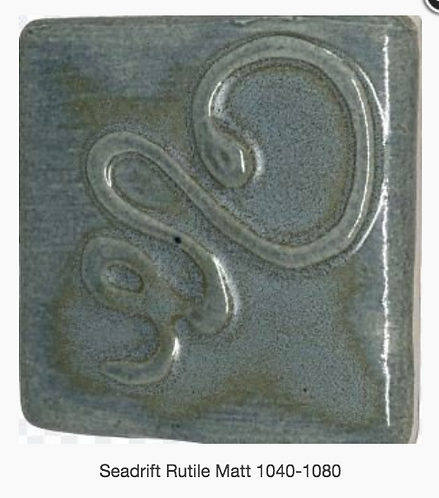 CESCO - SEADRIFT RUTILE MATT GLAZE  5039 - 500ml