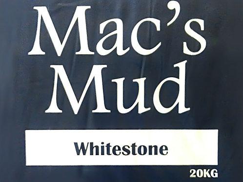 MAC'S MUD CLAY - Whitestone 20kg, buy online at Wellington Potters Supplies