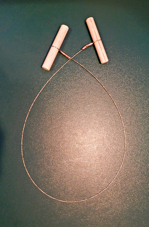 COBCRAFT CUTTING WIRE - Wooden Toggles