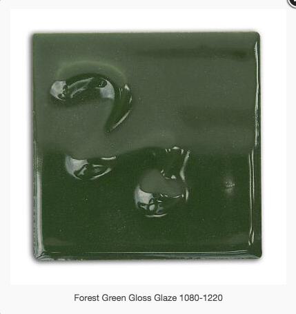 CESCO - FOREST GREEN GLOSS GLAZE  5279 - 500ML
