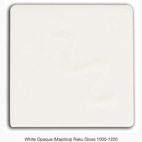 CESCO - WHITE OPAQUE (Majolica) RAKU GLOSS  5296 - 500ml