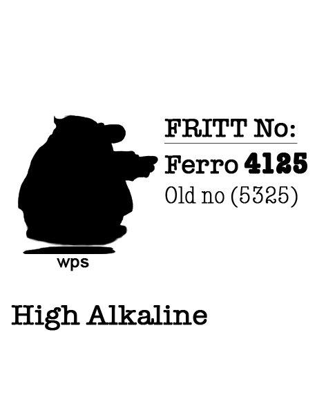 Fritt No: Ferro 4125  25kg bag