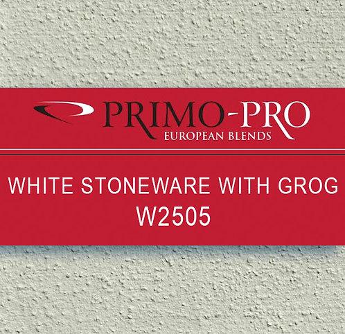 Primo-Pro White Stoneware Grog - W2505 - 10kg
