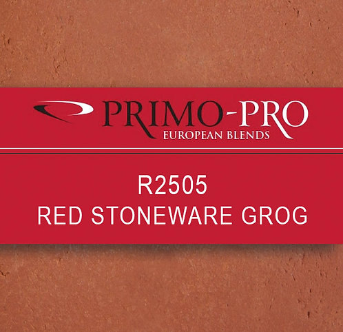 Primo-Pro R2505 Red Stoneware with Grog - 10kg