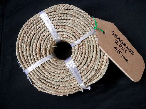 Seagrass Coil - 2 Ply 4-5mm | Wellington Potters Supplies Ltd