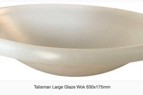 TALISMAN GLAZING WOK - Large