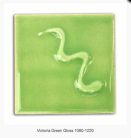 CESCO - VICTORIA GREEN GLOSS GLAZE  6164 - 500ml