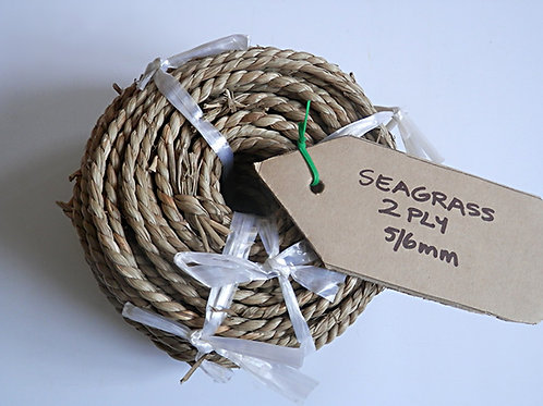 Seagrass Cord - Coil.  2 Ply  5-6mm