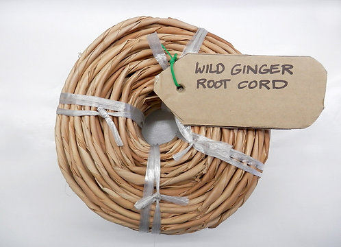 Wild Ginger Root Cord - Coil
