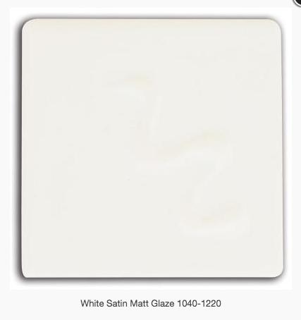 CESCO - WHITE SATIN MATT GLAZE  5028 - 500ml