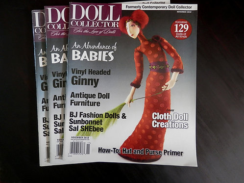 DOLL COLLECTOR - Back issue: November 2010