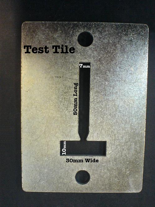 TEST TILE DIE