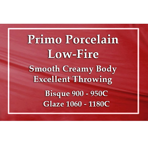 PRIMO LOW FIRE PORCELAIN 10kg