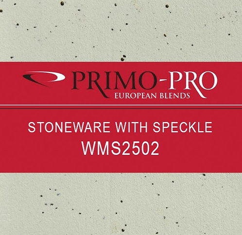 Primo-Pro WMS2502 Stoneware with Speckle  - 10kg