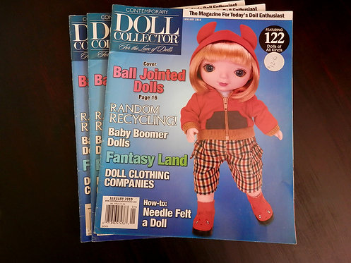 DOLL COLLECTOR - Back issue: January 2010