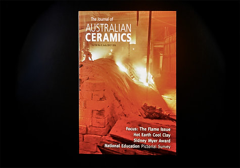 The Journal of AUSTRALIAN CERAMICS - July 2017