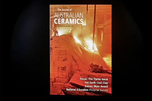 The Journal of AUSTRALIAN CERAMICS - July 2017