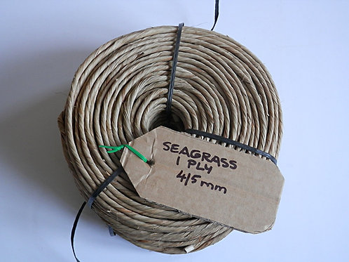 Seagrass Cord - Coil.  1 Ply  4-5mm