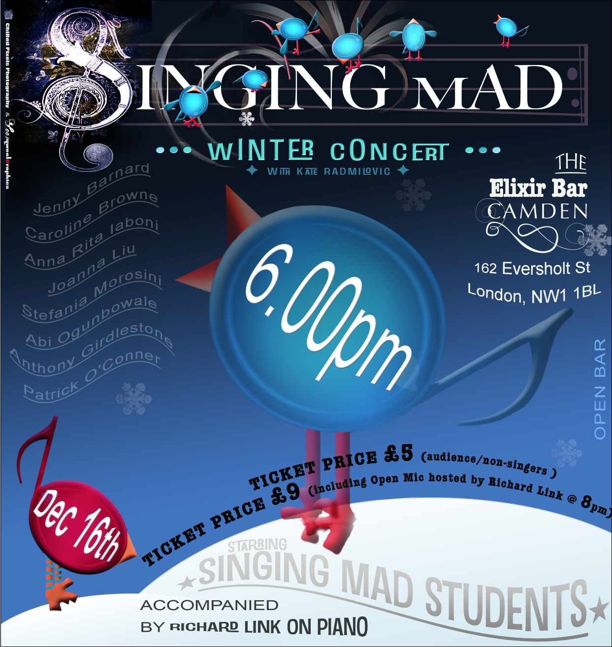 Poster for Singing Mad